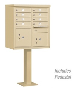 8-Door-Cluster-Mail-Box-Unit-with-Parcel-Locker