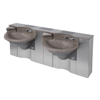 The Advocate Lavatory System, Commercial Bathroom Lavatory Sysytems, Bathroom Lavatories