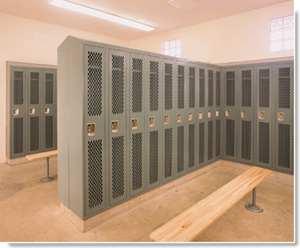 all welded lockers