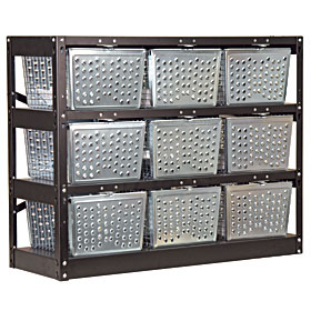 Industrial Lockers · Basket Rack Lockers