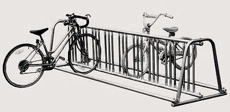 Bike-Rack-A-Frame