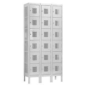 Vented-Box-Metal-Lockers