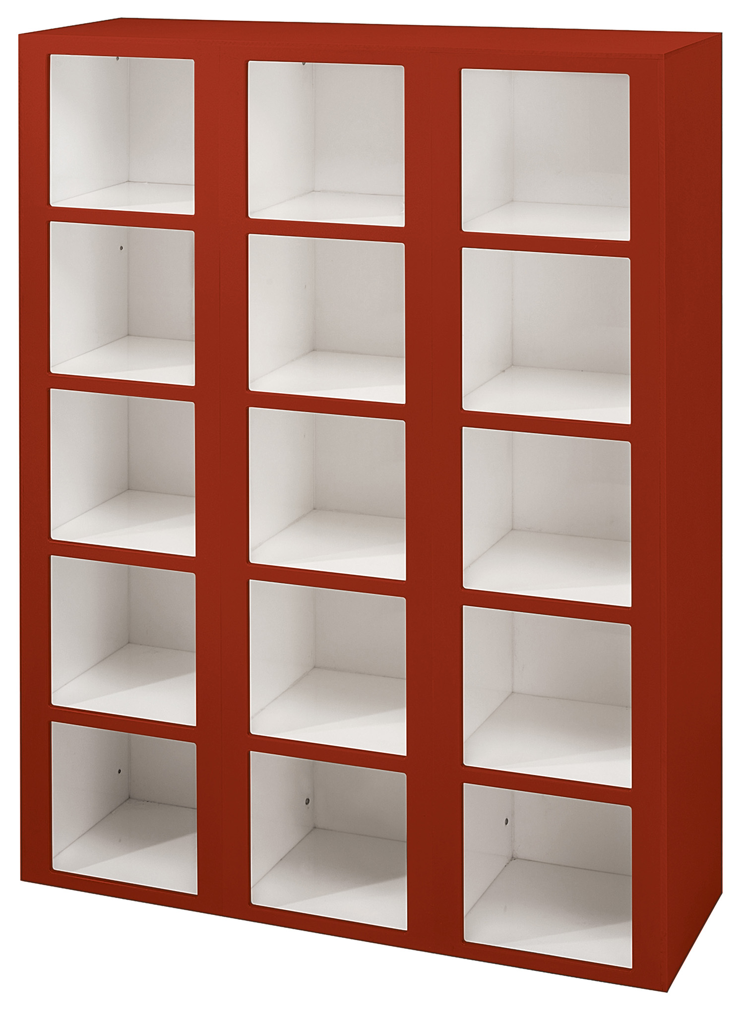 Cubby Organizer Storage Systems Are Solid Plastic Heavy