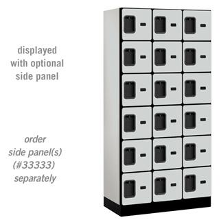 Six Tier Designer Lockers