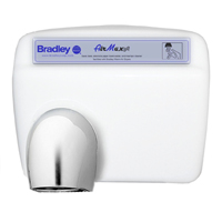 Electric hand dryers are an essential amenity to include in new restroom design.