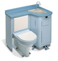 "Patient-Care-Combination-Lavatory-Water-Closet - 40"""