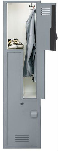 Solid-Plastic-Lenox-Z-Locker