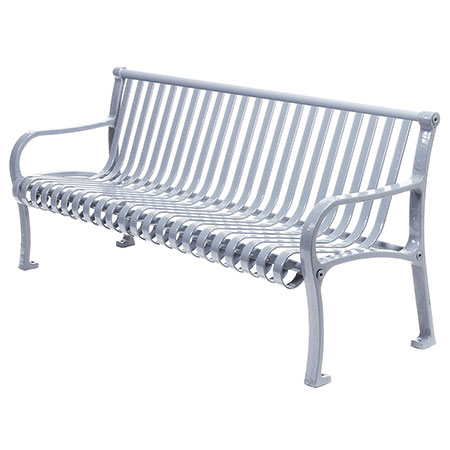 The Oglethorpe Metal Bench