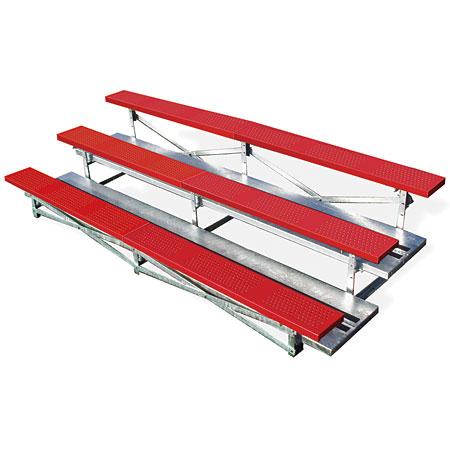 3 Row Steel Bleachers