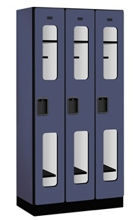 Single Tier See-Through Designer Lockers