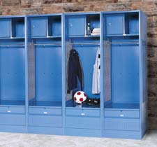 K.D. Stadium Lockers | Open Access