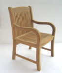 Tivoli Teak Wood Arm Chair