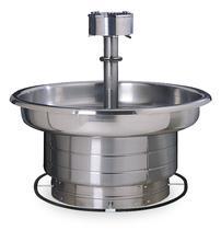 Circular Hand Washing Sink Basins And Ada Fountain Multi