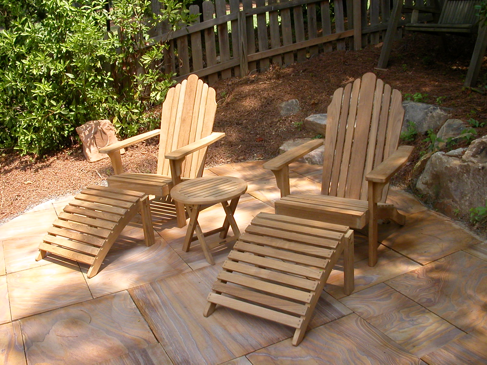 Teak Wood Casual Outdoor Garden Patio Furniture Benches, Chiars U0026 Tables.