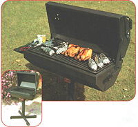 Covered Barbeque Grill
