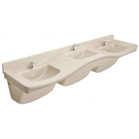 Bradley Commercial Sinks : Bradley commercial lavatories and sinks feature a wide range of ...