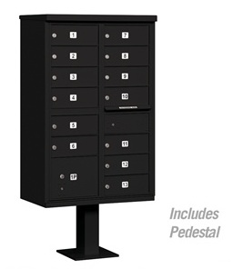 13-Door-Cluster-Mailbox-Unit-Parcel-Lock