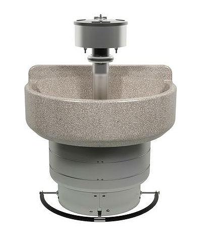 4-Station-Semi-Circle-Wash-Fountain-Foot-Control