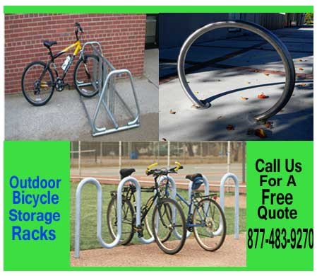 Outdoor-Bicycle-Storage-Racks