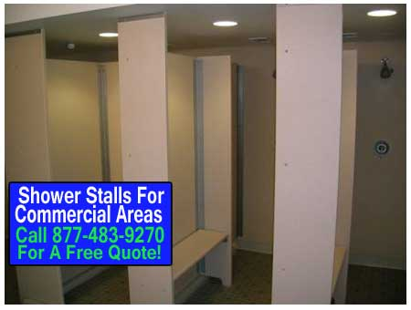 Commercial Shower Stalls