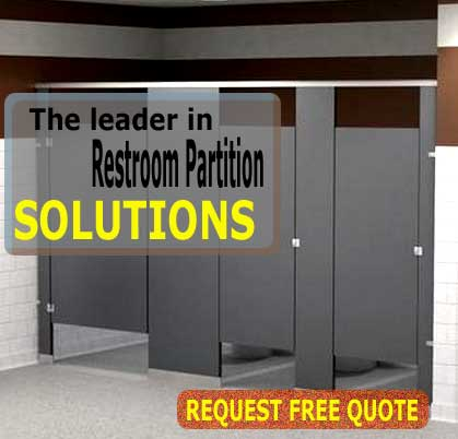 Commercial Restroom Partitions Solid Plastic Bathroom Partition - Bathroom partition installers