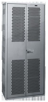 Double Door Military All Welded Gear Locker, Gear Lockers, Metal Lockers, Metal Military Lockers, Budget Lockers