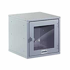 Modular Cube Locker with Glass Window