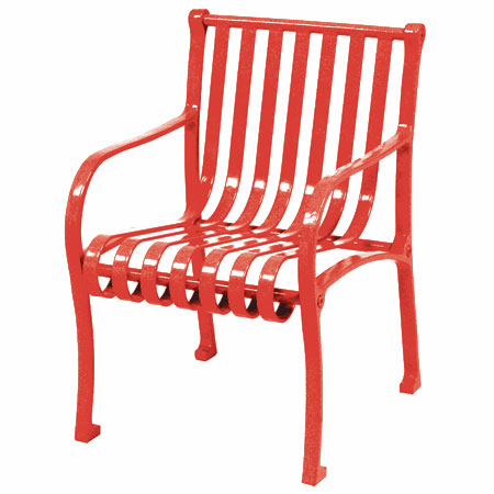 metal chairs are great accessories for outdoor and indoor living theyu0027re highly durable and sturdy enough to last for many years