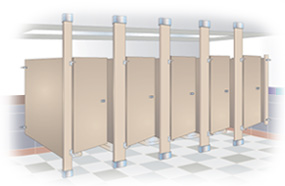 Toilet Partitions El Paso Tx stainless steel textured partitions, stainless steel partitions