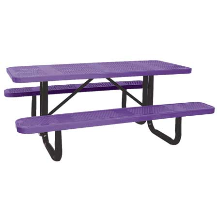 Outdoor Picnic Table : Indoor & Outdoor Rectangle Picnic Table Designs