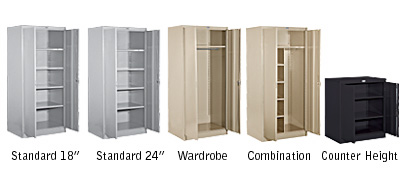 Cabinet Styles Storage Metal Cabinets