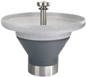 "Terreon� 8 1/2""D Bowl 54"" Circular Wash Fountain"